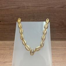 Cabedal de Búzios Dourado - Crisalys
