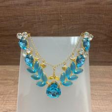 Cabedal de Sereia Azul - Crisalys