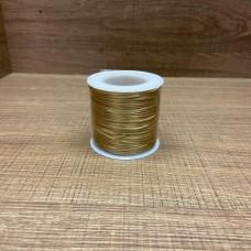 Cordão Rose Gold (claro) 50m 1mm - 1ª linha