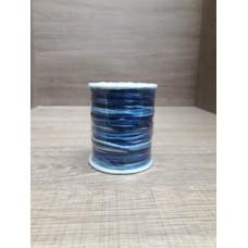 Cordão Mesclado Marinho / Azul claro 1mm 100 metros
