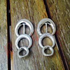Peça de ABS prata