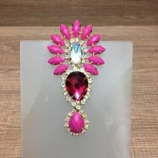 Cabedal Apache de Metal Pink