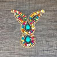 Cabedal Indiano Azul - Luna